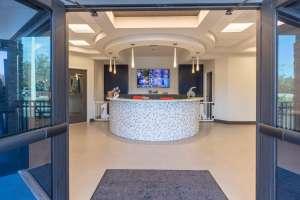 Pampered Pet Resorts entrance
